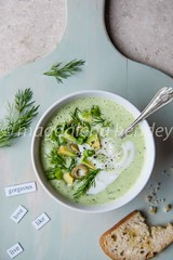 cucumber, avocado and dill chilled soup (magshendey) Tags: foodphoto foodstyling avocado green soup chilled closeup healthy
