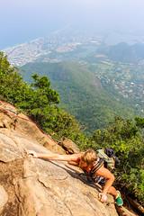 IMG_4970 (sergeysemendyaev) Tags: 2016 rio riodejaneiro brazil pedradagavea    hiking adventure best    travel nature   landscape scenery rock mountain    high forest  climbing risk dangerous