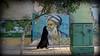 le poète Hafez (YOUGUIE) Tags: iran shiraz hafez tchador graffiti graff poésie persan calligraphie