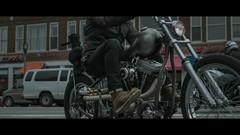 The Biker (R. Wozniak) Tags: chopper milwaukee motorcompany motorbike motorcycle cinematic color city