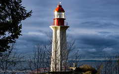 VanGuard (trishp97) Tags: lighthouse outdoor sky nature ocean canada britishcolumbia westcoast