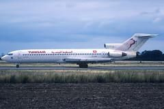 Tunisair B727-2H3 TS-JHS TLS 25/07/1997 (jordi757) Tags: airplanes avions nikon f90x kodachrome kodachrome64 tls lfbo toulouse blagnac boeing 727 b727 b727200 tunisair tsjhs
