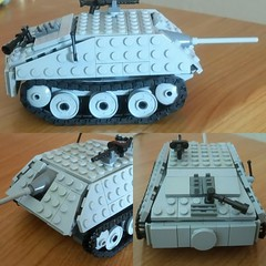 Jagdpanzer 38(t) 'Hetzer' Finished (spud_the_viking) Tags: lego ww2 german nazi tank hetzer world tanks