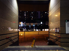Hong Kong Nights (Dace Saeades) Tags: hk bight urban empty architecture subway lost