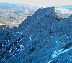 Mt Yamnuska Summit Scramble - Ben on his way (benlarhome) Tags: yamnuska alberta canada kananaskis scramble scrambling hike hiking trek trekking trail