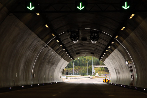 Exit of Stafelter tunnel