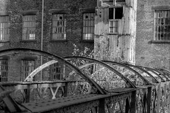 BigMill (Tony Tooth) Tags: nikon d7100 tamron 2470mm bw blackandwhite mill textilemill derelict victorian williamsugden leek staffs staffordshire gradeiilisted