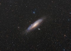 M31 Hybrid (Paddy Gilliland @ Image The Universe) Tags: ngc galaxy m31 m110 stars space night astro astrophotography