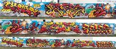 sainte street festival 2016 (weaks oner) Tags: weaks weeks work kewor gek graffiti graff sheme crew cheme pelez ruber rube ledis ledys m2m ins sainte street festival apc