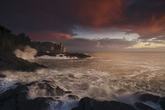 Magic moment (Gian Paolo Chiesi) Tags: tellaro sunset storm liguria italia italy meditteanean village sony