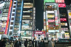 Snapshot | Shinjuku Night | 歌舞伎町 (藍川芥 aikawake) Tags: shinjuku night light street tokyo japan nippon neon people awesome life streetshot 新宿 snap 街拍 夜生活 行人 霓虹 閃爍 flicker twinkle glitter glint blink