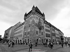 Knigstrabe - Nuremberg (Stauromel) Tags: nuremberg konigstrabe alemania germany bn blancoynegro blackwhite arquitectura stauromel skyline street alquimiadigital canon1dmarkii melilla