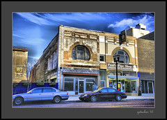 Paul's Est 1928 (the Gallopping Geezer '4.4' million + views....) Tags: building structure paulspipeshop business store storefront flint mi michigan canon 5d3 tamron 28300 geezer 2016 tonemap tonemapped sign signage