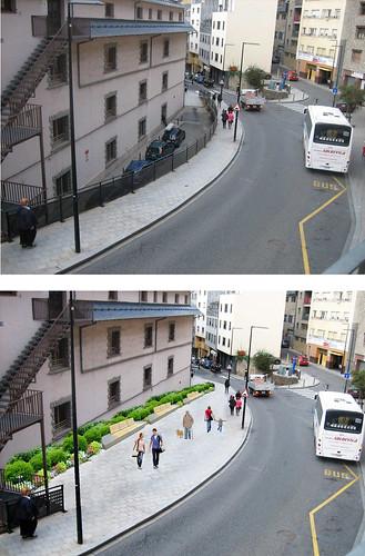 Presentació de nous espais públics al carrer Ciutat de Valls
