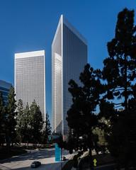 Century City Towers (Chimay Bleue) Tags: century city towers twin minoru yamasaki design architecture midcentury modern modernism los angeles la plaza