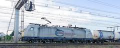 [FR-ECR] BR 186 307-5 + Kombiverkehr 41224 Irun/Saarbrücken remonte la ligne Paris-Orléans @Saint-Pierre-des-Corps 05/11/2016 DSC_6097_DxO (yael.flament1) Tags: ecr kombiverkehr kombi combiné combi shuttle br baureihe 186 3075 307 5 euro cargo rail locomotive transport railway chemin de fer electric 15kv 1500volts 1500 volts pk229 pk 229 parisorléans toursstpierre tours saintpierredescorps saint pierre des corps container tank tankcontainer containertank conteneurs