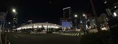 panorama granroof with wide conversion lens (HAMACHI!) Tags: tokyo 2016 japan granroof tokyostation street road wideconversionlens seneo iphone iphone6s