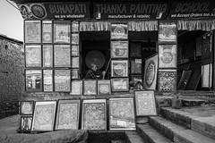 Art... (Kantashoothailand) Tags: changunarayan centraldevelopmentregion nepal np people streetphotography canon 1dx markii ef2470mmf28liiusm bw blackandwhite monochrome