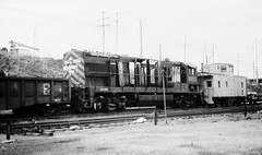 Western Pacific U30B locomotive heading for the scarp yard at Omaha in 1984 (Tangled Bank) Tags: train railway railroad old classic heritage vintage north american western pacific u30b locomotive heading for scarp yard omaha 1984 wp