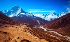 Pheriche Valley (Castelaze_Studio) Tags: pheriche nepal trek trekking everest base camp sagarmantha asia asie trip travel landscape nepali castelaze mountain mountains himalaya himalayas ama dablam panorama montagne