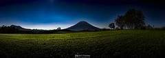 Ezo-Fuji (Art Fiveone) Tags: panorama mtyoutei youteizan ezofuji kyogoku hokkaido mountain nightshot nightview          moonlight distagon3514zm japan niseko