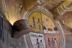 2016 Grand Canyon History Symposium Desert View Watchtower 0403 (Grand Canyon NPS) Tags: grandcanyon historical society 2016symposium desert view watchtower tour hopi artist fred kabotie murals mary colter historic building room snake legend