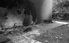 exakta_vx_kodak_triX_400_haifa_fire_26_nov_2016_028 (avitalnatanson) Tags: exakta fire damage kodak trix arson terror haifa carmel