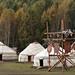 Yurts, casas tradicionais