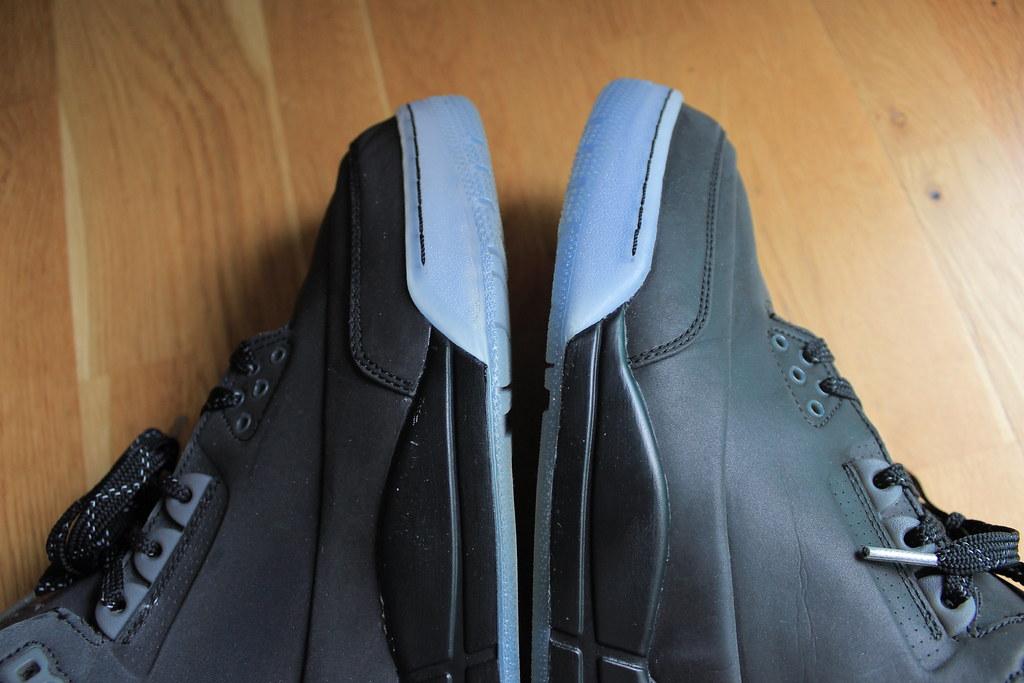 a9e41435067af7 AIR JORDAN 3 5LAB3 BLACK   BLACK-CLEAR 3M 631603-010 12US   UK11