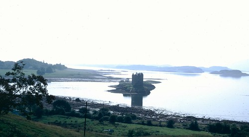 Castle Stalker home of Clan Stewart of Appin