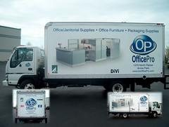 Truck Lettering - SIGNARAMA Janesville, WI - Office Pro