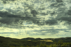 Cloud gathering (DirtyBootPrints) Tags: summer horses sun storm hot west beauty rain weather clouds skyscape landscape nikon view desert hiking earth atmosphere hike trail monsoon heat nd environment layers summertime sunrays stratus lightrays heatwave layered