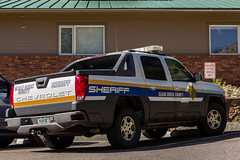 Clear Creek County Sheriff (Pyrat Wesly) Tags: truck canon chevy sheriff avalanche clearcreekcounty 60d