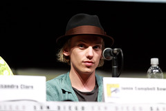 Jamie Campbell Bower (Gage Skidmore) Tags: california city robert san kevin clare comic lily jamie diego center convention bones cassandra instruments campbell collins zwart harald con godfrey bower sheehan mortal gao zegers 2013