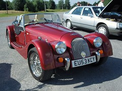 MORGAN Plus 8 (xavnco2) Tags: red france cars rouge automobile autos morgan picardie roadster somme rossa flamicourt