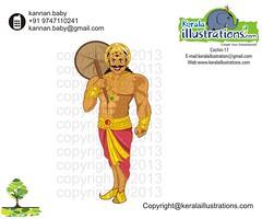 1 (kannanalpy) Tags: festival illustration king illustrations kerala vector onam puli maveli pookalam uriyadi mahabali onathappan pulikali onamfestival pattom kuuti