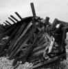 Swiks 3 (schoeband) Tags: bw 120 6x6 film mediumformat sweden schweden shipwreck sverige rodinal seashore öland hasselblad500cm naturreservat swiks efker25 vraket
