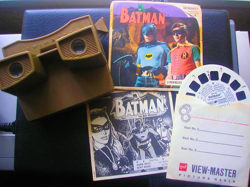 My Batman & Robin Viewmaster 3D Viewer and Reels. 1966.