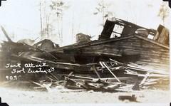 AL231 Davis Album Photo_000152 (San Diego Air & Space Museum Archives) Tags: tank sandiego renault fteustis panamacanal ft17 forteustis renaultft armoredwarfare renaultft17 al231 armouredwarfare renaulttank