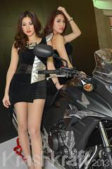 Bangkok 5th Motorbike Festival (krashkraft) Tags: coyote beautiful beauty thailand pretty bangkok gorgeous autoshow allrightsreserved racequeen gridgirl boothbabe 2013 krashkraft เซ็กซี่ พริตตี้ มอเตอร์โชว์ โคโยตี้ motorbikefestival