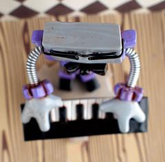 Commission: Johnny Diggz Robot Version (HerArtSheLoves) Tags: black silver purple handmade ooak rustic gear worn commission shabby herartsheloves johnnydiggz robotwearingglasses theawesomerobotscom rusticrobotsculpture squarethinrobot robotwearingaruffleshirt loungesingerrobot snazzyrobotsinger robotwithkeyboard musicalrobotsculpture