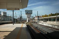 Pinhal Novo (Tiago Alves Miranda) Tags: portugal station track googlemaps platform railway via estao plataforma linha pinhalnovo signalling sinalizao pno caminhodeferro linhadoalentejo linhadosul tiagoalvesmiranda
