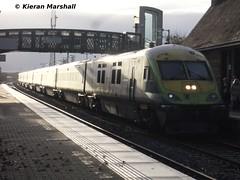 4004 arrives at Portlaoise, 16/11/13 (hurricanemk1c) Tags: irish train rail railway trains railways caf irishrail intercity 4004 portlaoise mark4 iarnród 2013 éireann iarnródéireann 1320corkheuston