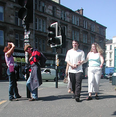 Byres Road - People