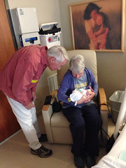 "Grandma Morton Holds Paul for the First Time • <a style=""font-size:0.8em;"" href=""http://www.flickr.com/photos/109120354@N07/10953544573/"" target=""_blank"">View on Flickr</a>"