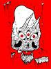 Annunaki Skull 3 (VLCERS) Tags: eye art illustration skulls skull artwork artist alien satan devil third illustrator illuminati annunaki vlcers iheartvlcers