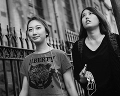 LIBERTY  - [explore ] (McLovin 2.0) Tags: city urban blackandwhite bw candid streetphotography melbourne explore streetphoto streetstyle explored peoplegirls sonyrx1