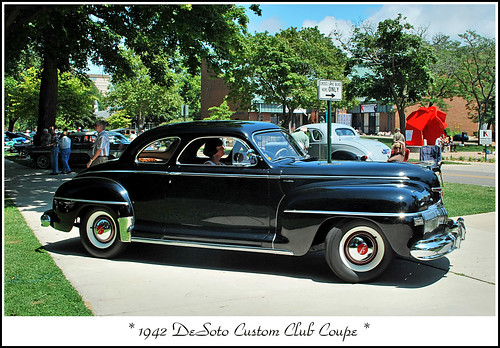 1942 DeSoto Club Coupe