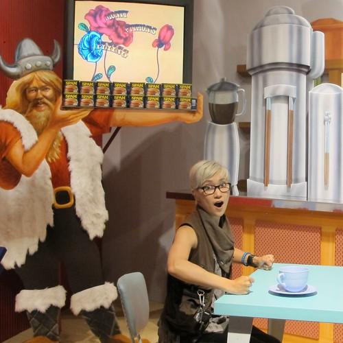 Austin, MN - Spam Museum: Monty Python exhibit