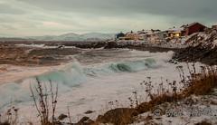 waves (kjellbendik) Tags: norge hus hav finnmark facebook honningsvg blger bygning magerya byggning naturoglandskap kjellbendikgmailcom